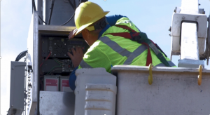 Services provided included field survey and GPS locating, make-ready engineering and construction services, pole loading and structural analysis, and third-party attachment licensing.